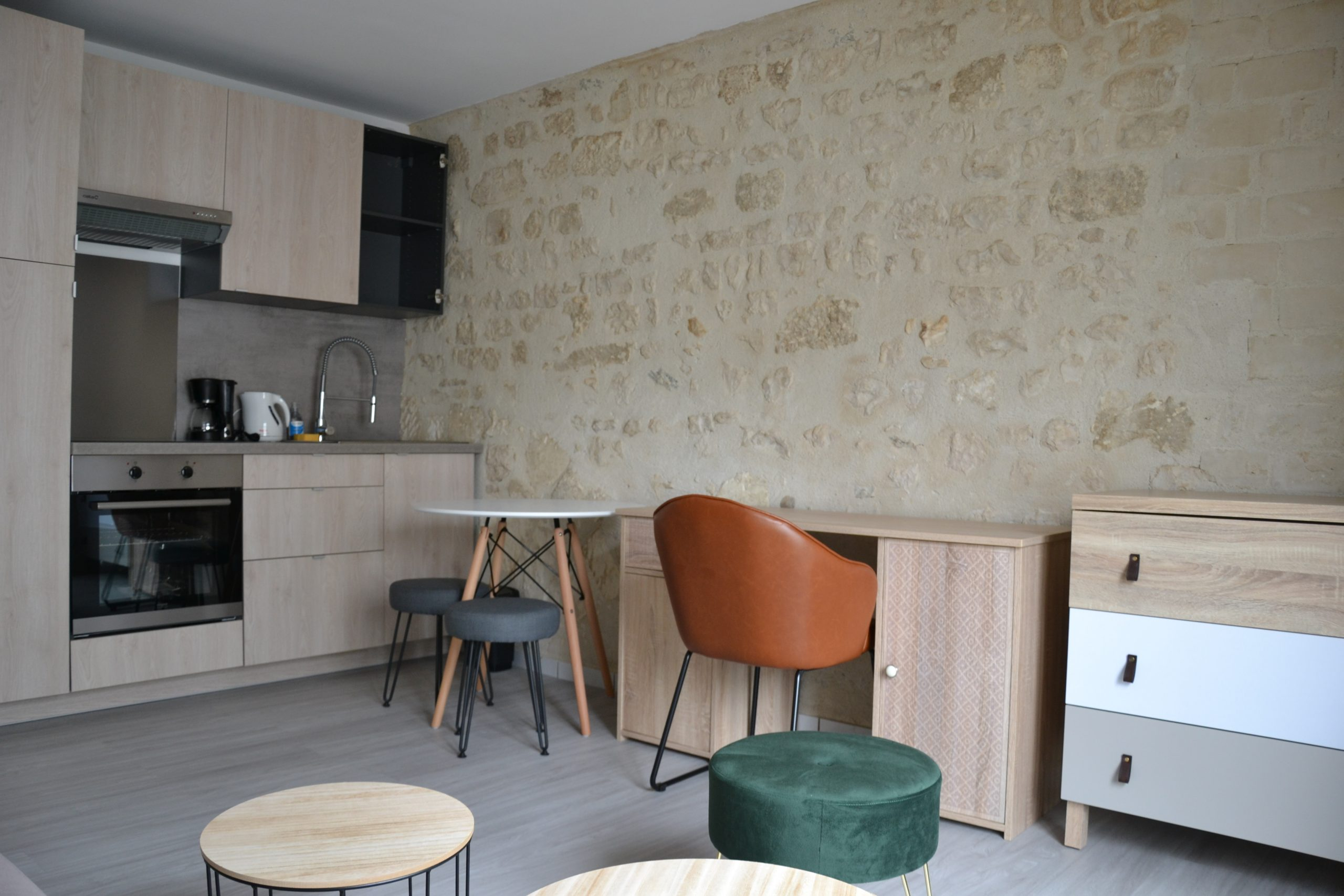 Studio meublé centre La Rochelle