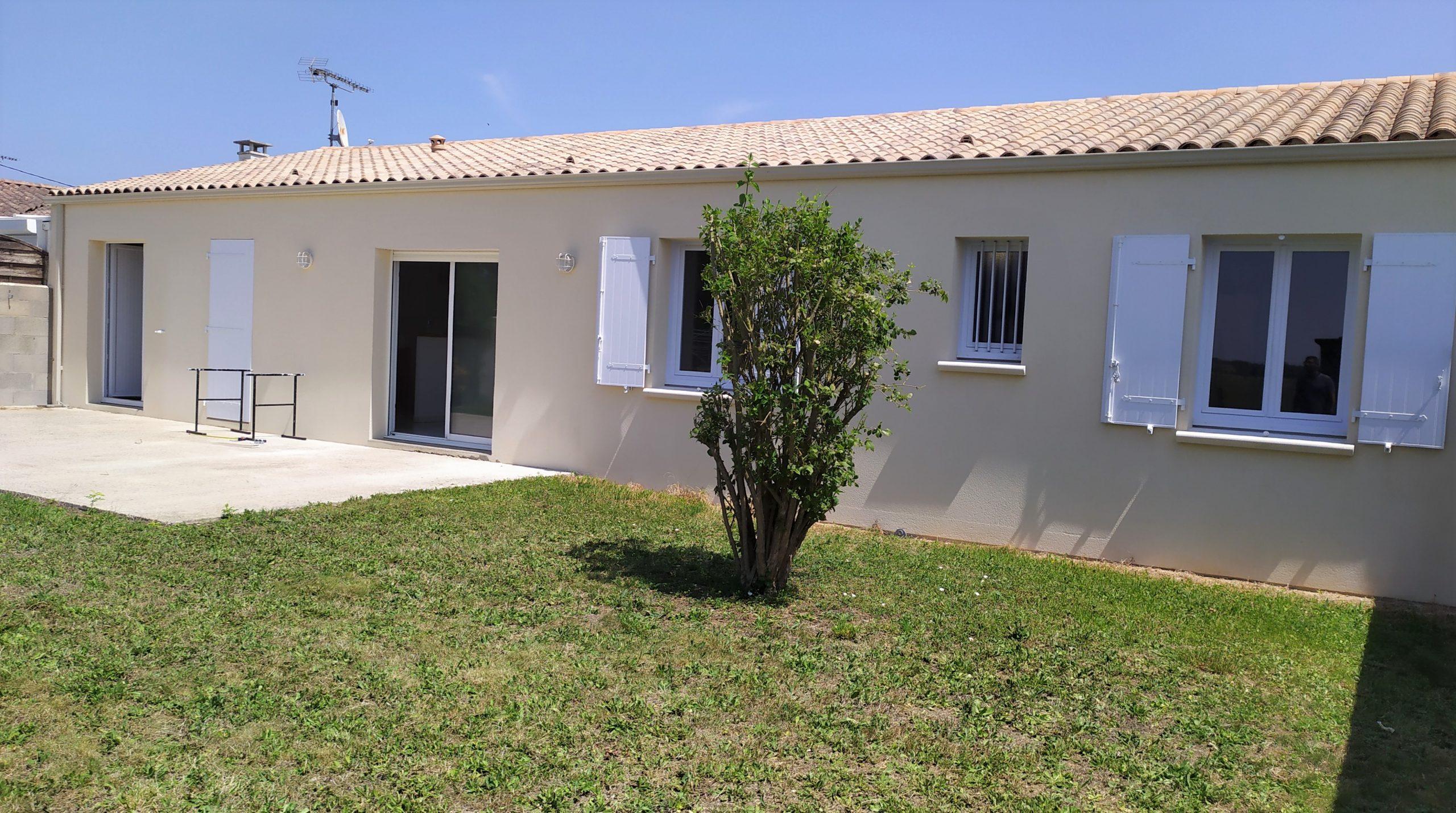 Maison de plain pied 5 pièce(s) 106 m2 Aigrefeuille d'Aunis